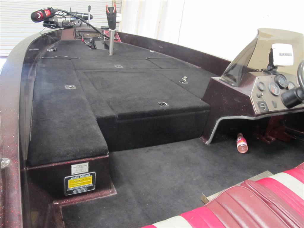 Deck extension for ranger boats