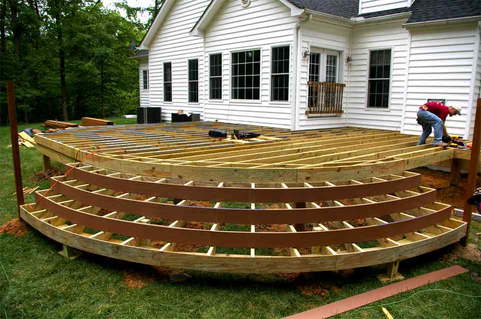 Deck extension plans