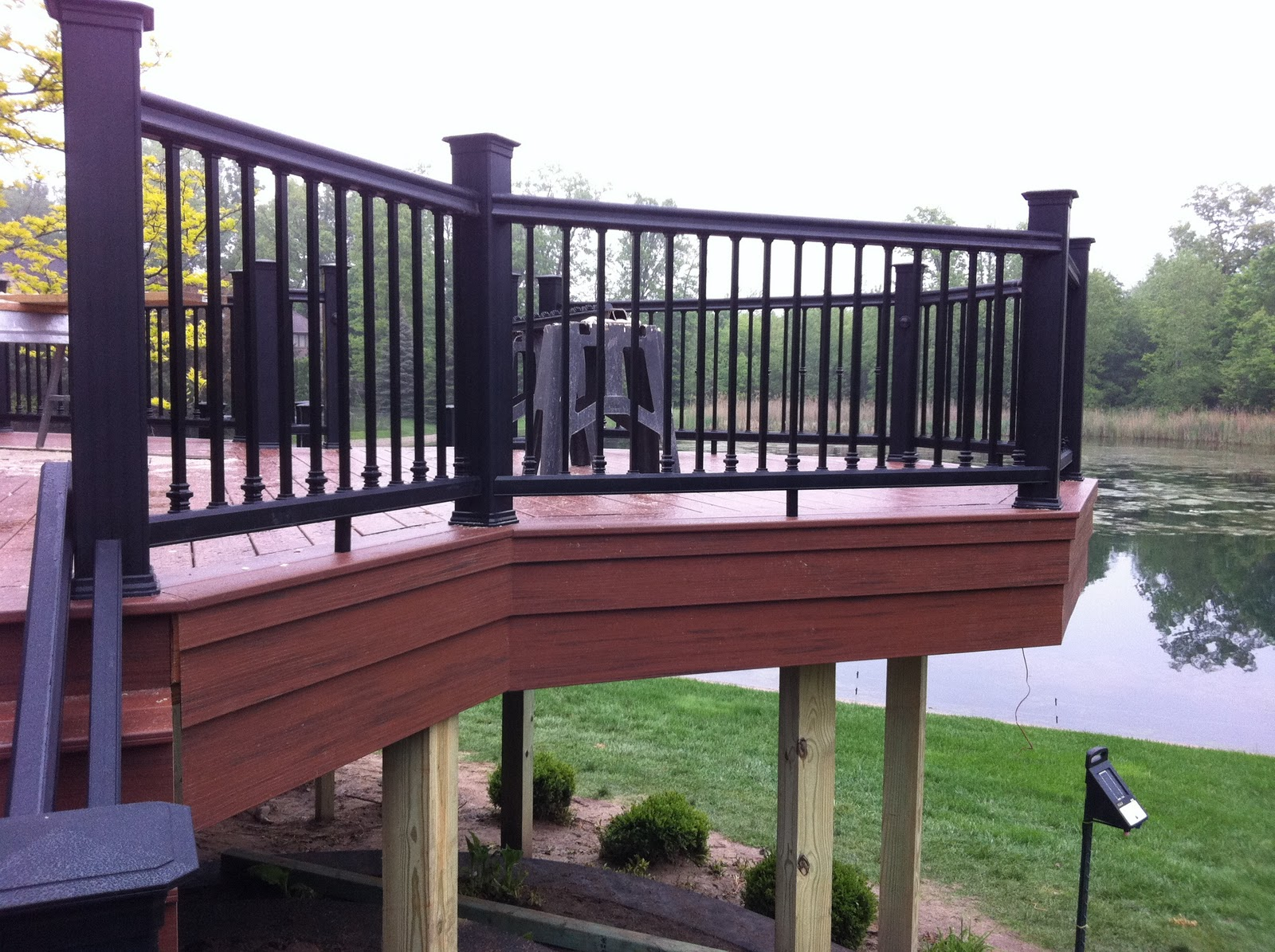 Deck fascia installation
