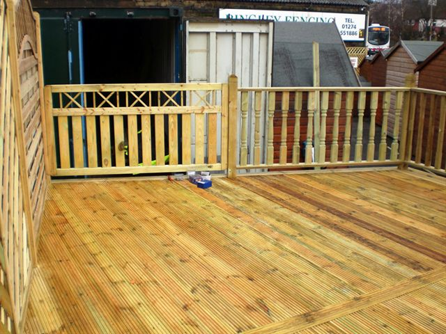 Deck fence designs