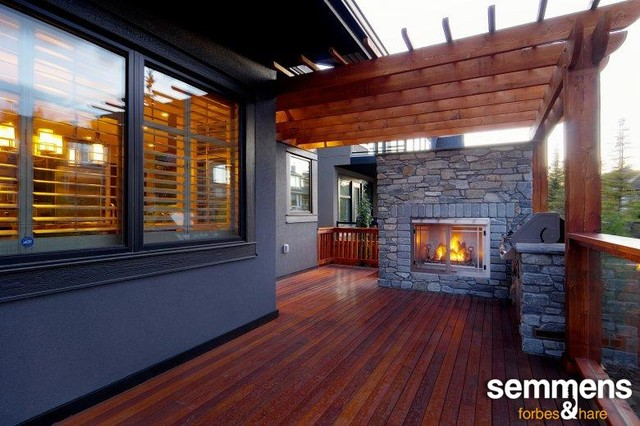 Outside fireplace cost Deck fireplace designs - Outside Fireplace Construction Deck Design And Ideas