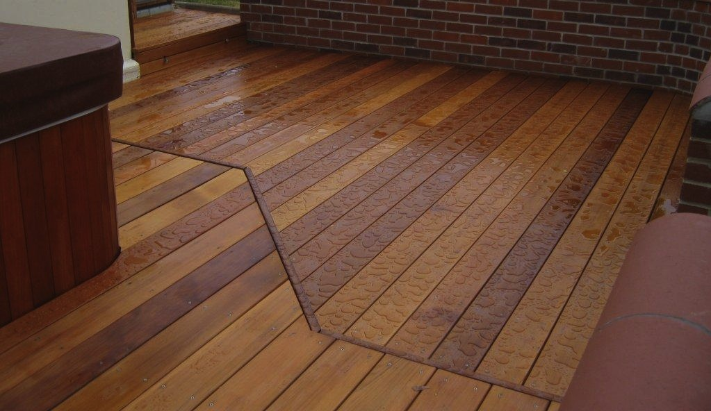 Deck flooring options