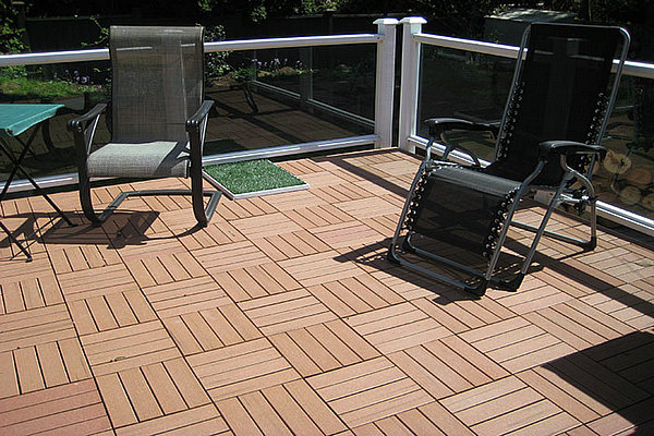 Deck flooring options canada