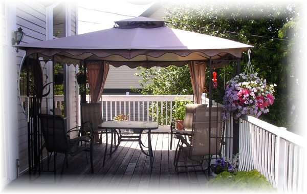 Deck With Attached Gazebo Deck For Gazebo