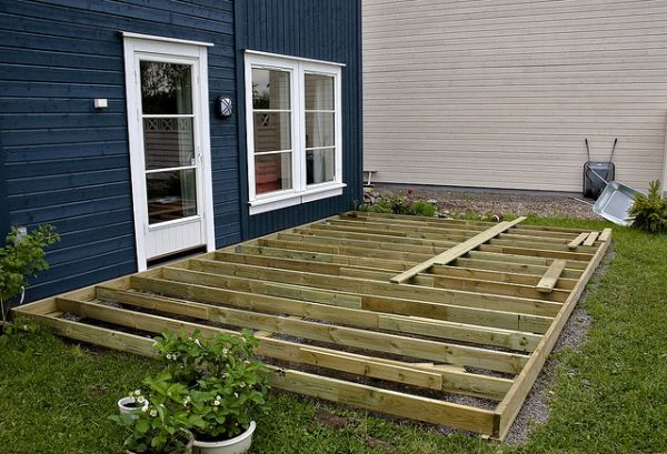 Deck framing cost