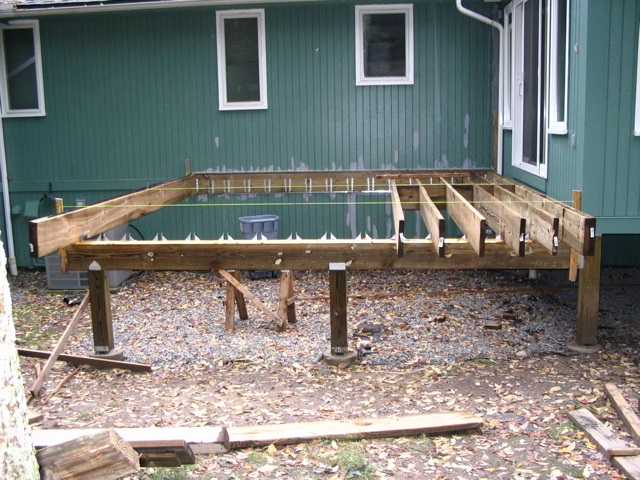 Deck framing images