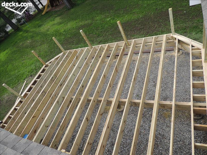 Deck Framing Spacing Deck Design And Ideas