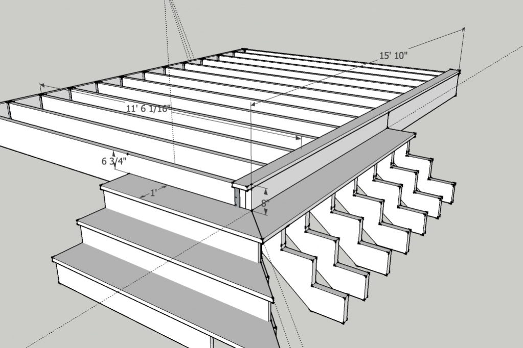 Deck framing software