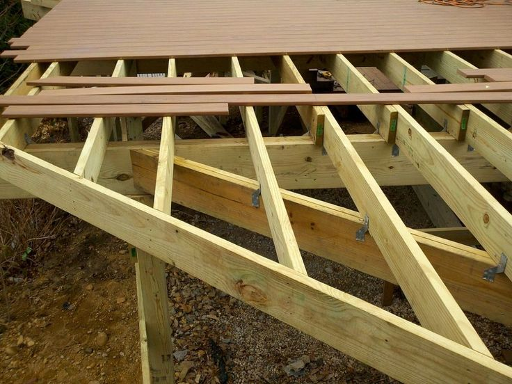 Deck framing techniques