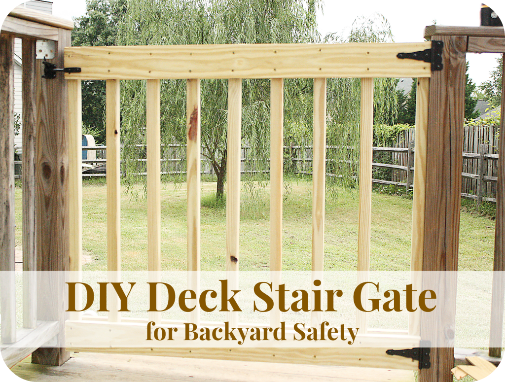 Deck gate diy