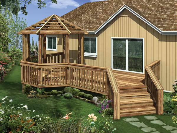 Deck gazebo designs