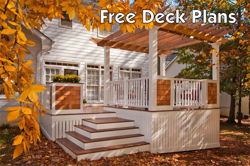 Deck guardrail design