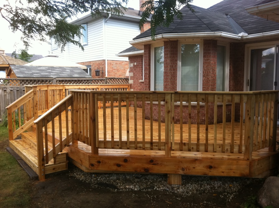 Deck handrail lowes