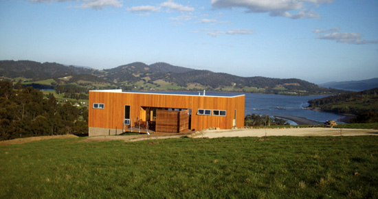 Deck house port huon