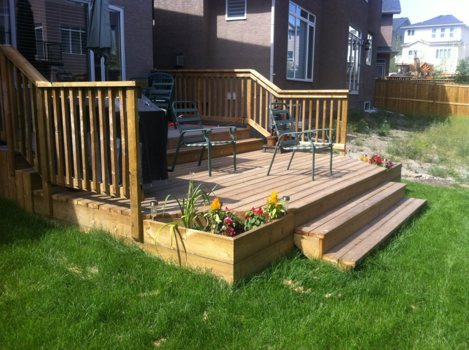 Deck installation calgary