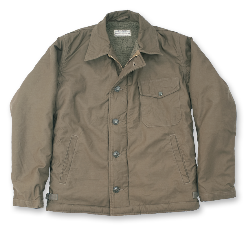Deck jacket navy