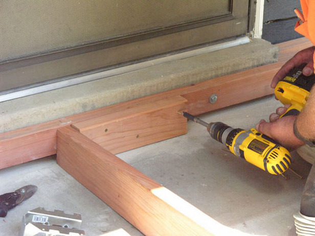 Deck joist installation
