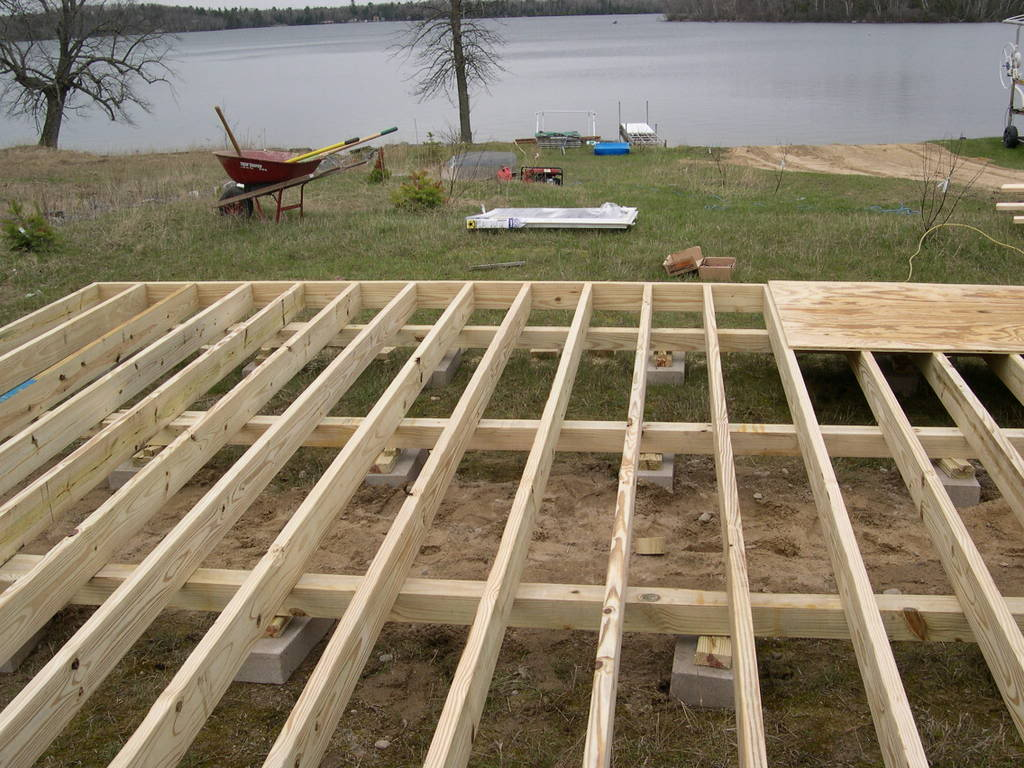 Deck Joists 2 215 6 Or 2 215 8 Deck Design And Ideas
