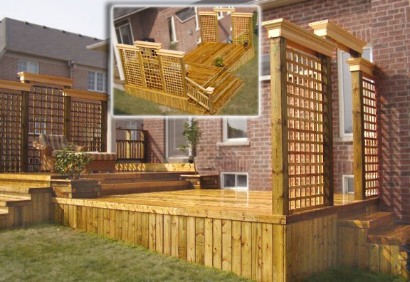 Deck lattice design