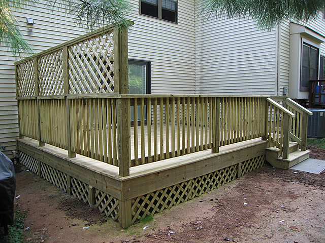 Deck lattice ideas