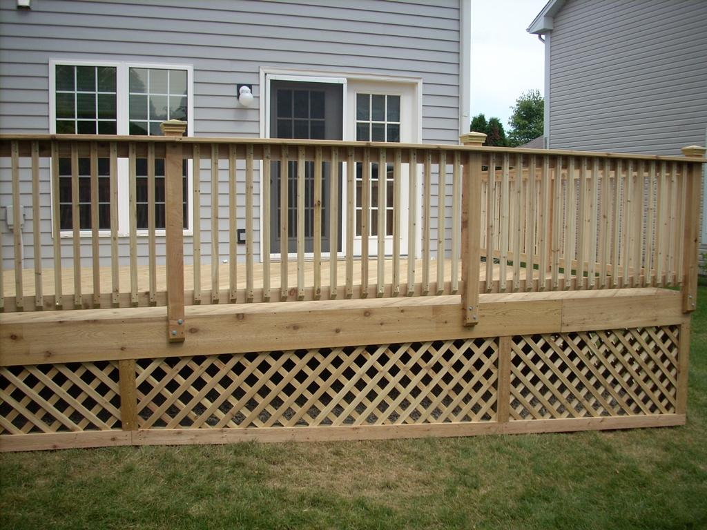 Deck lattice pictures