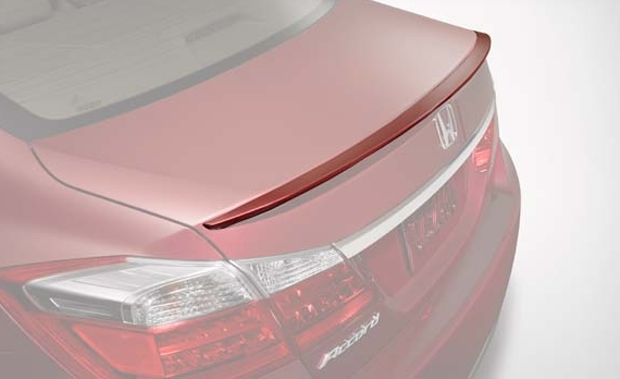 Deck lid spoiler honda accord 2013
