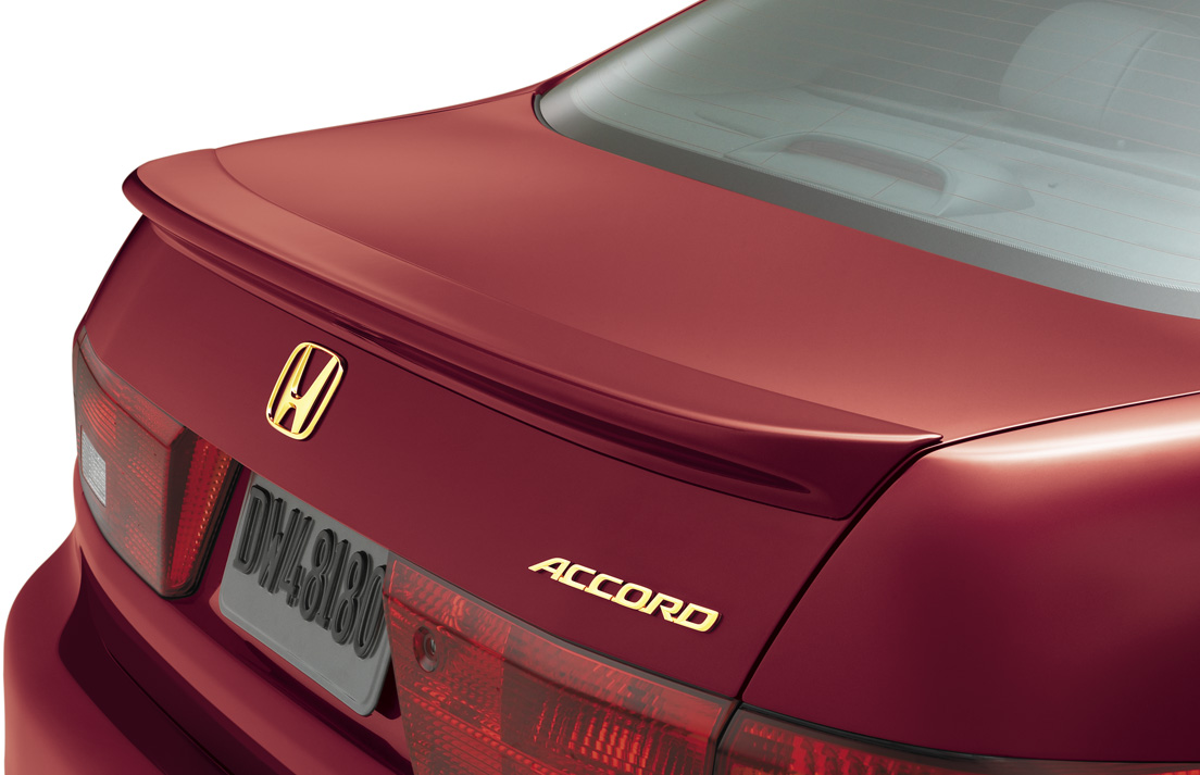 Deck lid spoiler honda accord 2014
