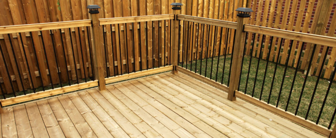 Deck non wood materials