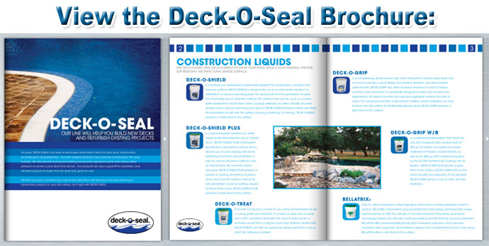 Deck o seal coverage