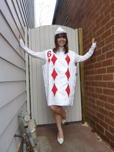 Deck of cards fancy dress