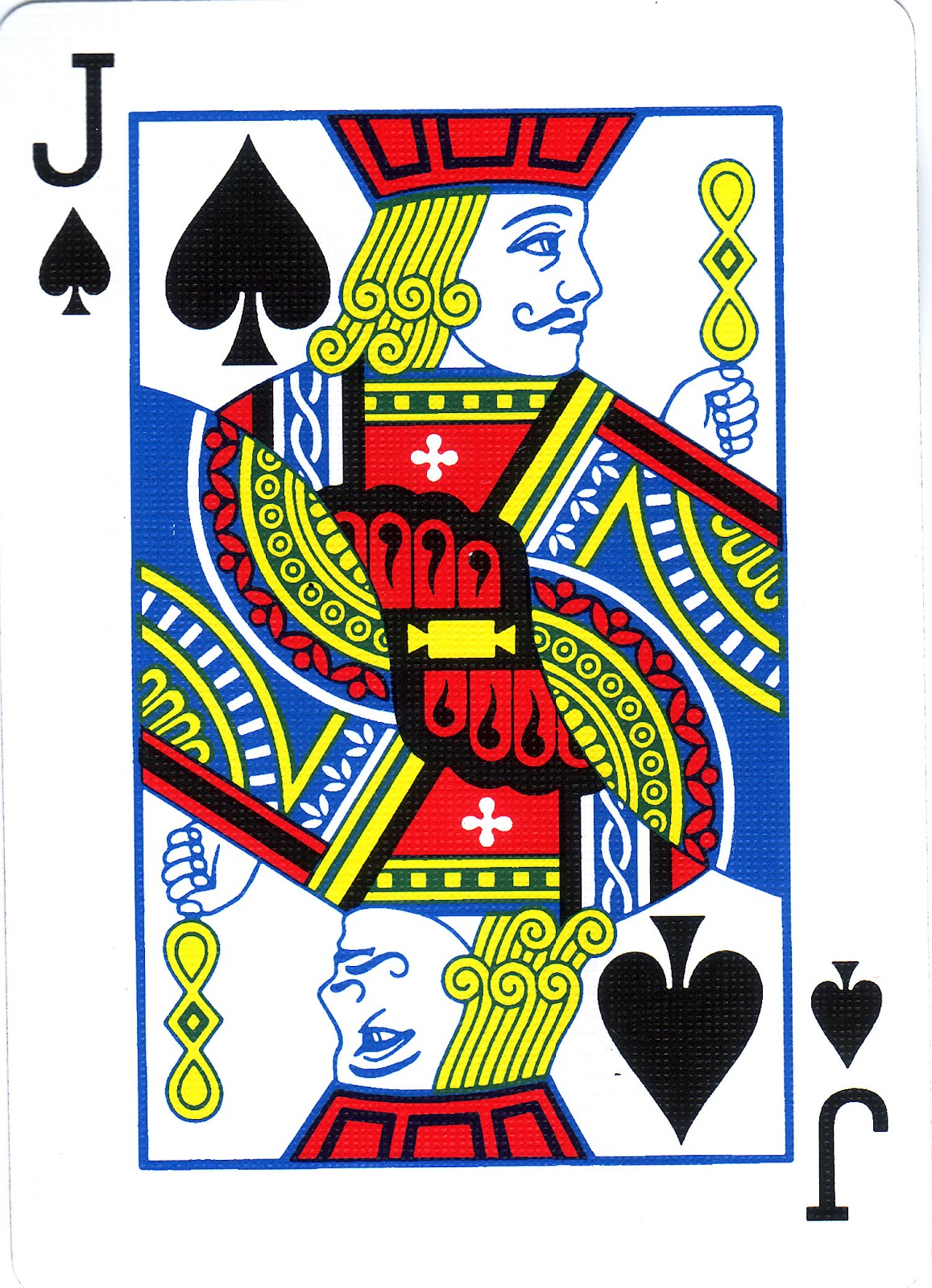 Deck of cards jack