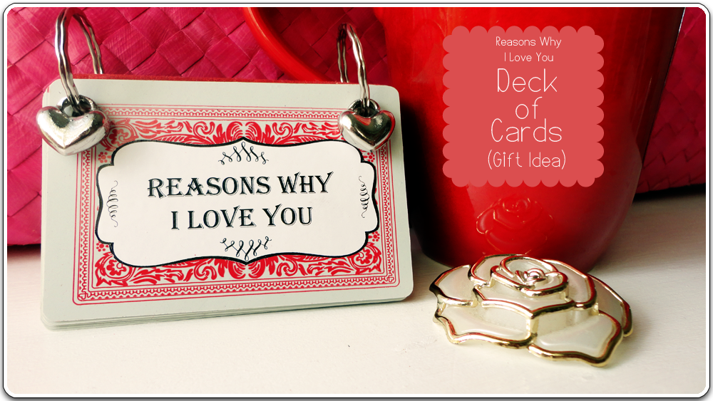 Deck of cards reasons i love you