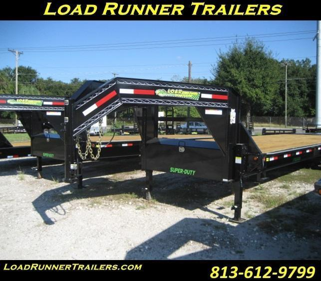 Deck over gooseneck trailers for sale