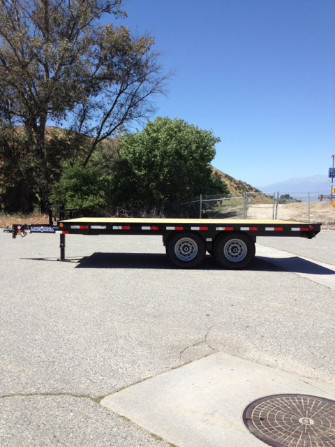 Deck over trailer height
