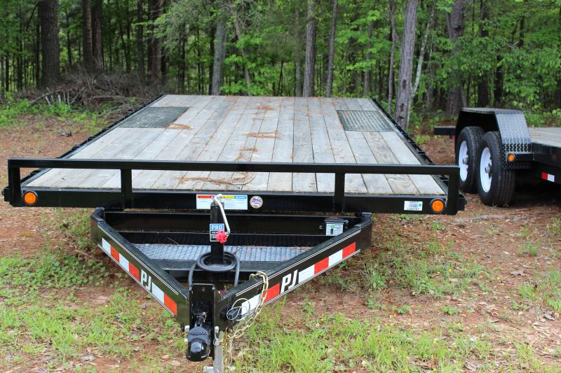 Deck over trailer ramps