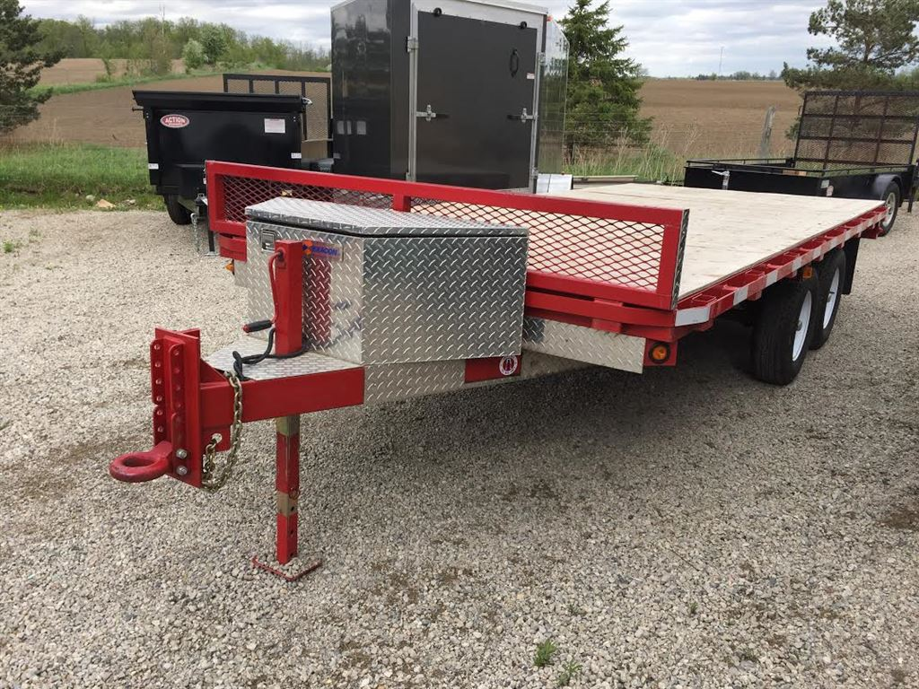 Low Profile Deck Over Trailer Deck Design And Ideas