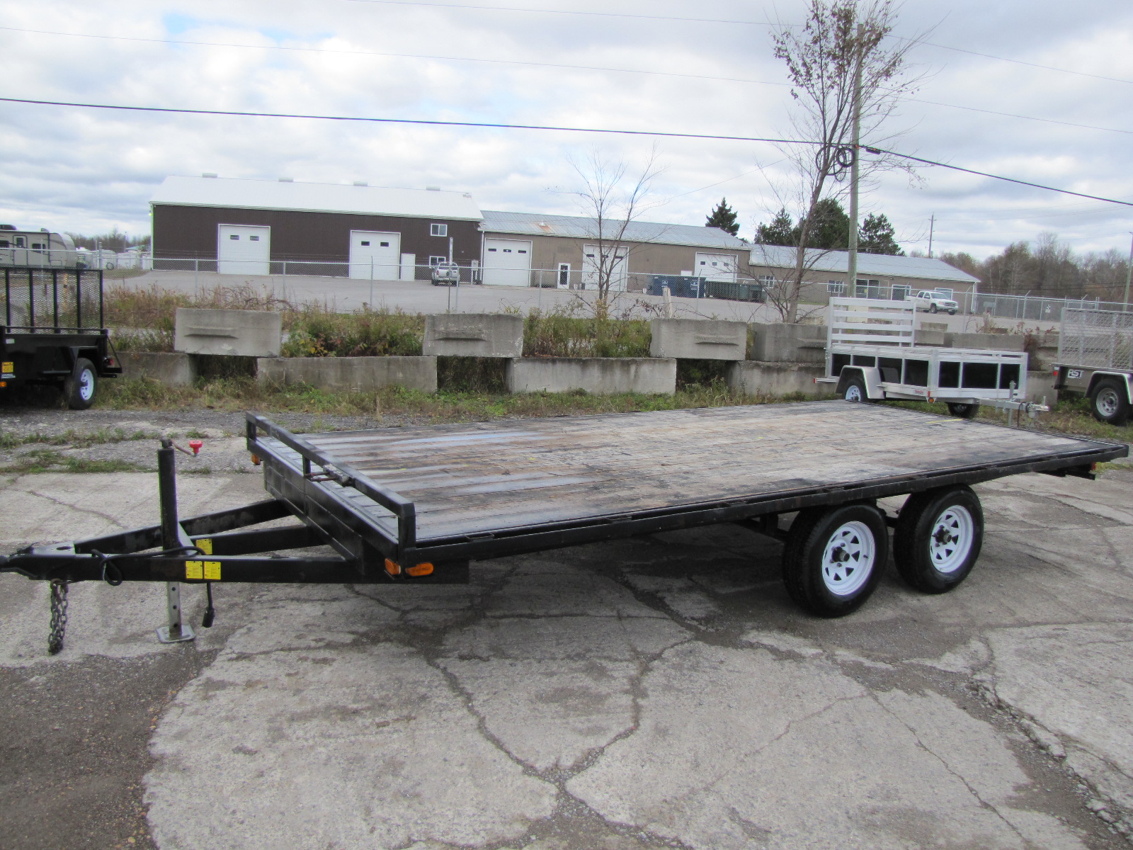 Deck over trailer plans deck design and ideas deck over flat bed trailer deck over trailers ontario baanklon Images