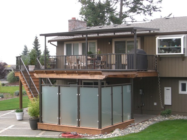 Deck overhead cover