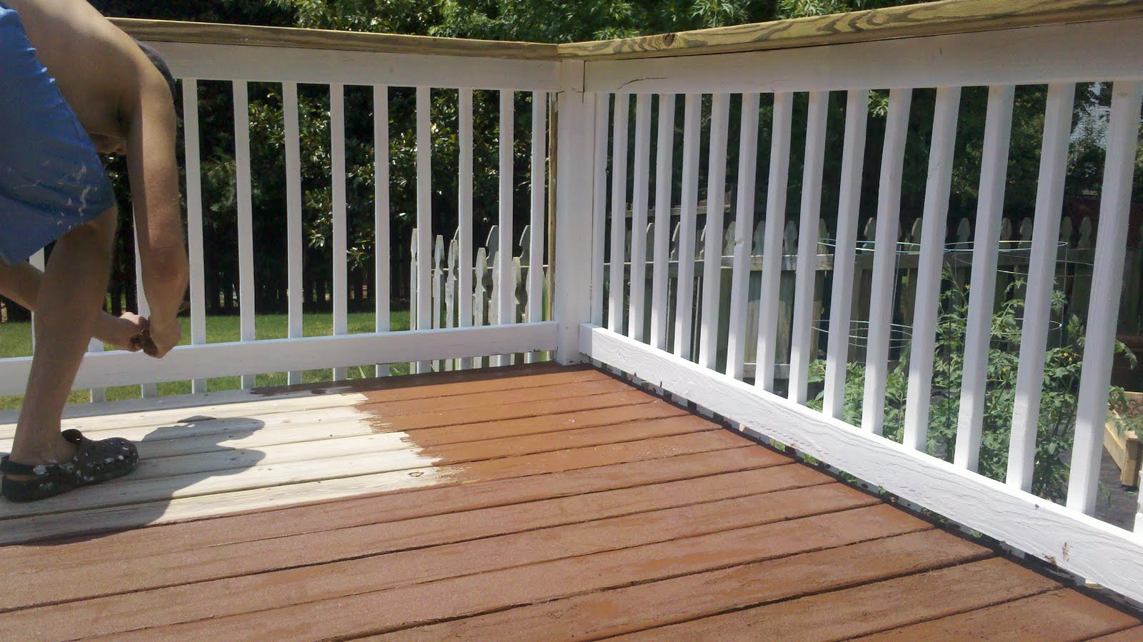 Deck paints home depot