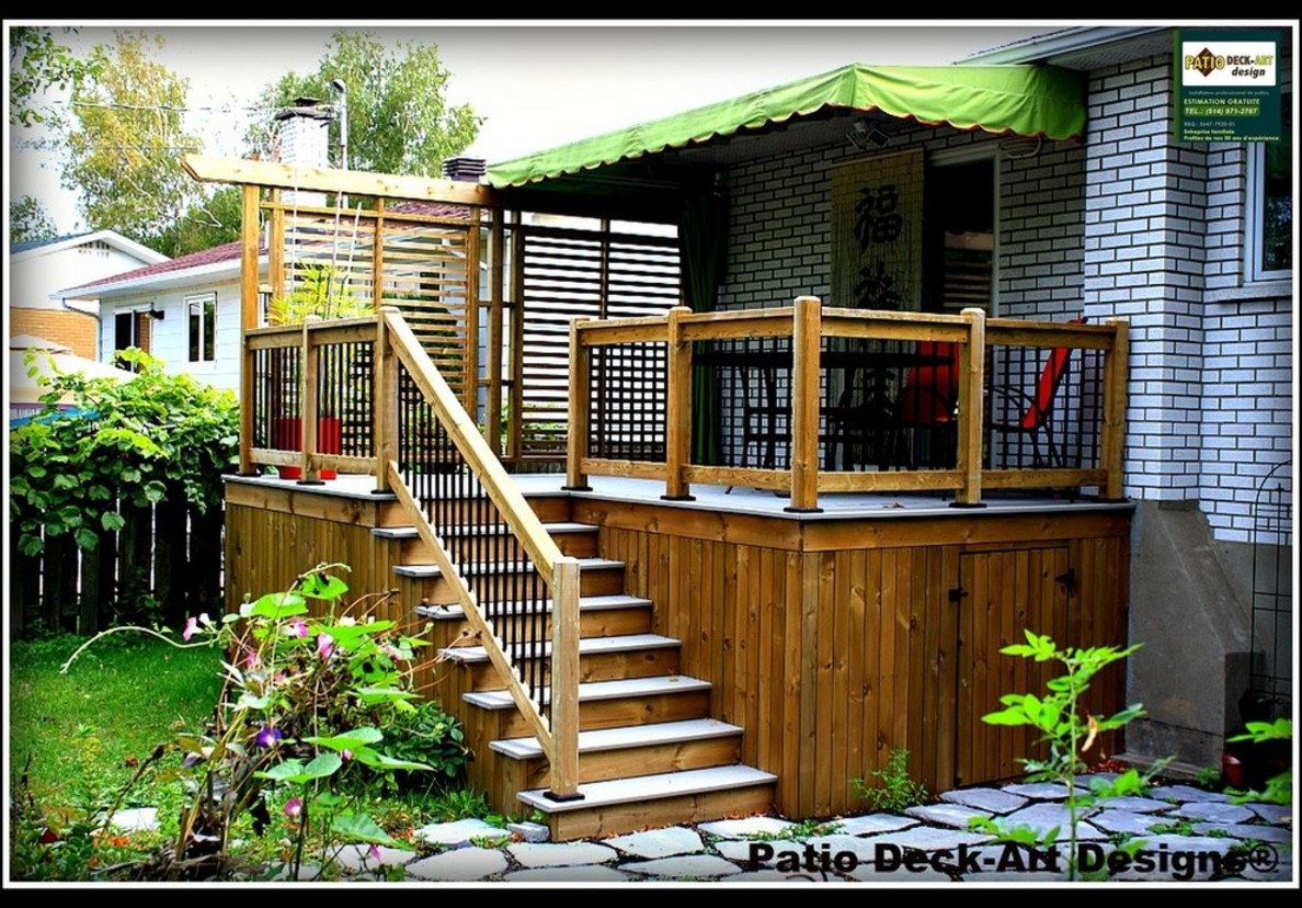 Steamer Deck And Patio Awning Deck Design And Ideas