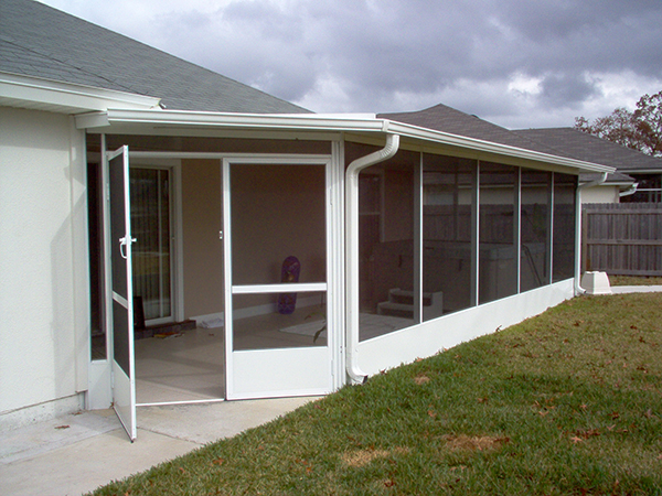 Deck patio enclosures