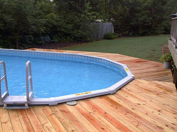 Deck pictures with above ground pools