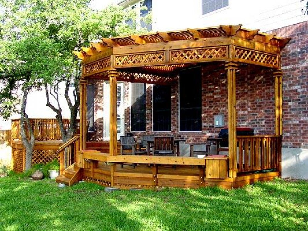 Deck pictures with pergola
