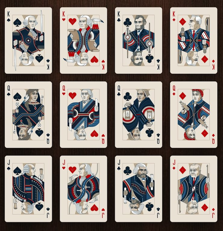 Deck playing cards images