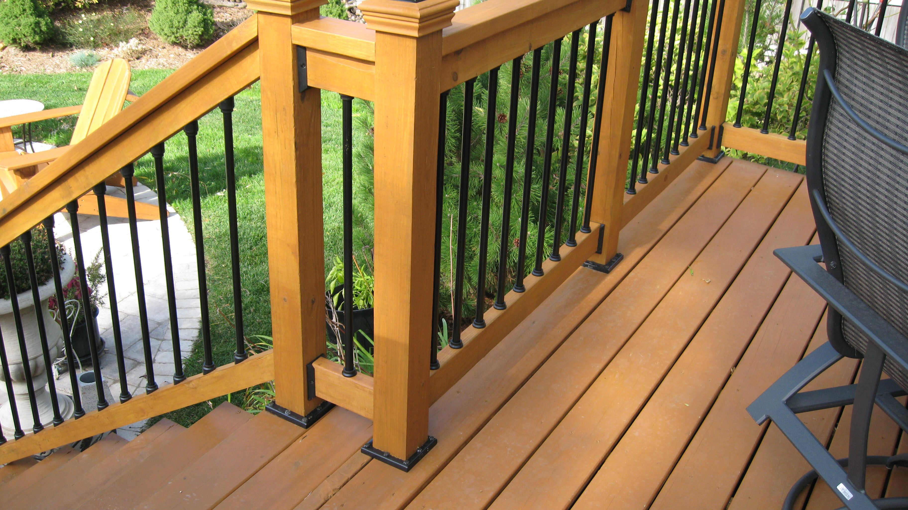 Pressure Treated Wood Garden Safety Carolina Wood Decks