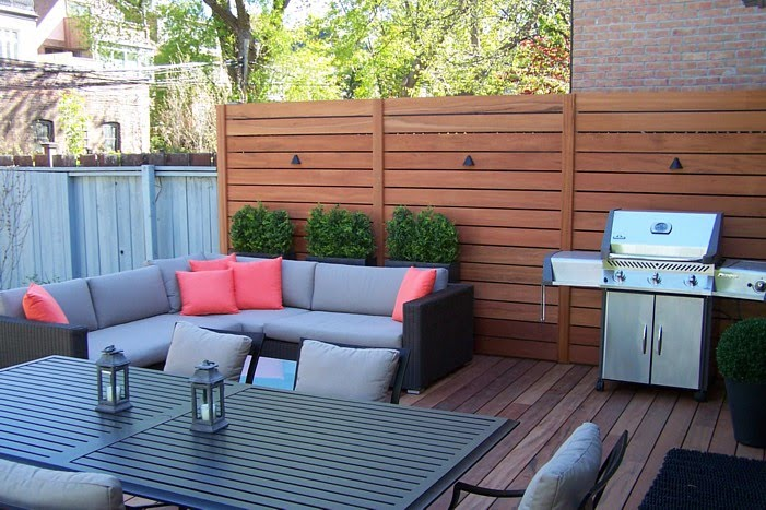 Deck privacy ideas pictures