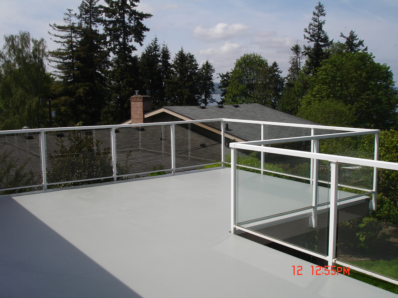 Deck protective coating