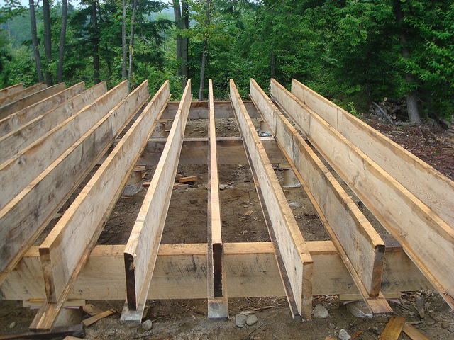 Deck rim joists