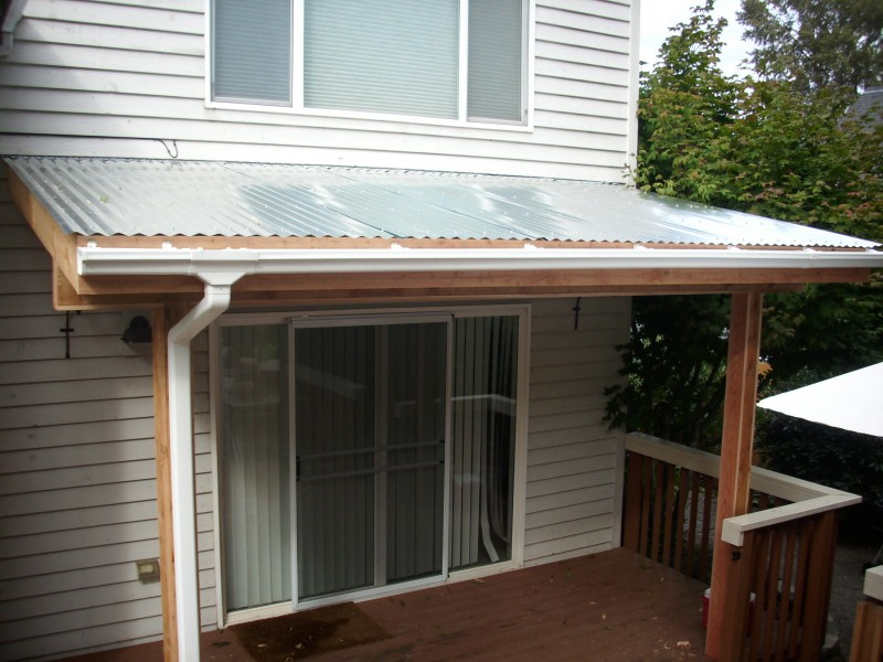 Deck roof cover