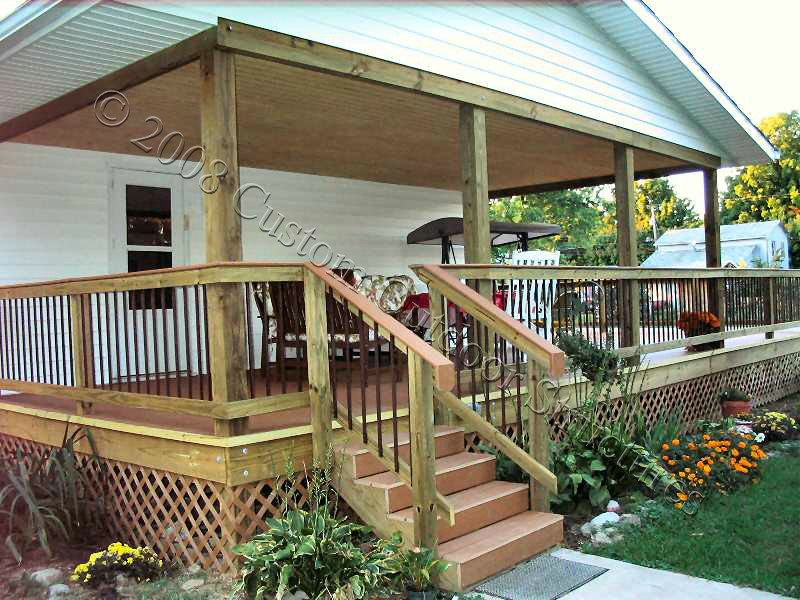 Deck roof designs free